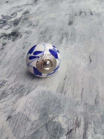 Ручка мебельная керамическая  расписная √41, 00001041