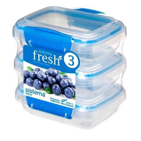 Набор контейнеров Fresh (3 шт.), 200  мл