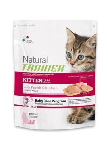 Trainer Сухой Корм Natural Kitten для котят от 1 до 6 месяцев 1,5 кг.