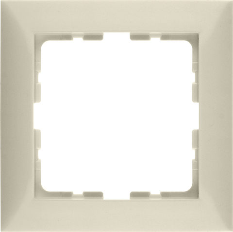 Рамка на 1 пост. Цвет Бежевый. Berker (Беркер). S.1. 10118982