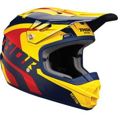 Ricochet Youth Helmet / Детский / Желто-красный