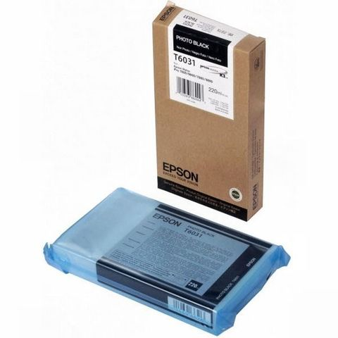 Картридж черный фото Epson C13T603100 для Stylus Pro 7800/9800/7880/9880 (220 мл)