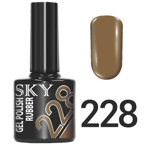 Sky Гель-лак трёхфазный тон №228 10мл