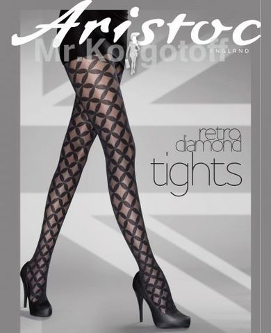 Колготки Aristoc Retro Diamond Tights 10 (AQT7)