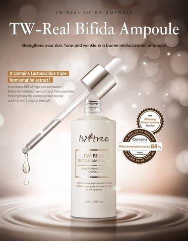 Ампульная сыворотка с бифидокомплексом, 50 мл / Isntree TW-Real Bifida Ampoule