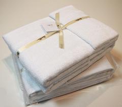 Набор полотенец 3 шт Devilla Baht&Co белый