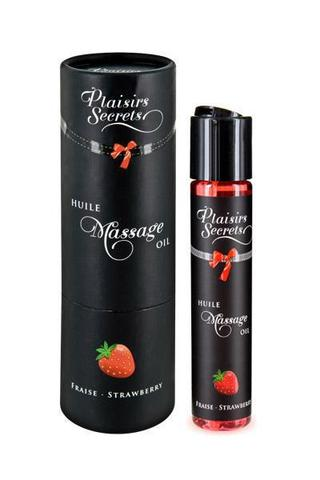 MASSAGE OIL STRAWBERRY Массажное масло Земляника 59 мл
