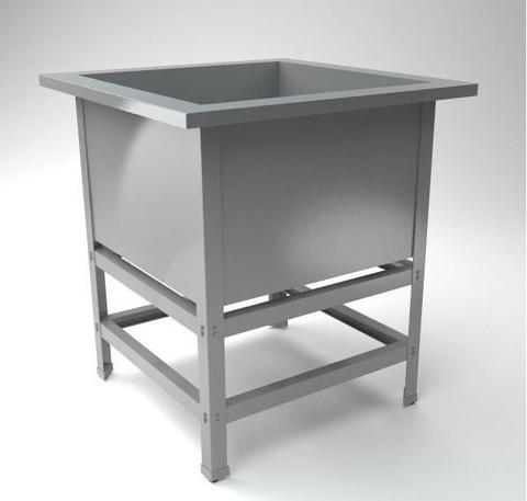 ВМПС -1-430 Ванна производственная, (530х530х870)  глубина 300мм