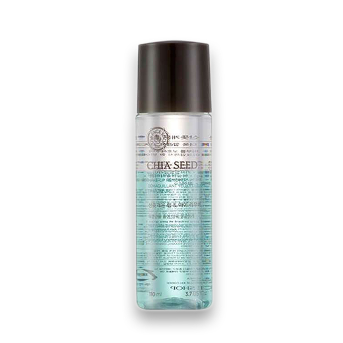 THE FACE SHOP Chia Seed Fresh Lip & Eye Make-Up Remover, 110 ml