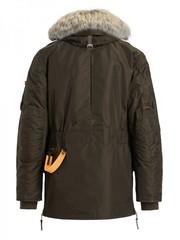 Пуховик мужской Parajumpers Kodiak Bush (Зелено-коричневый)