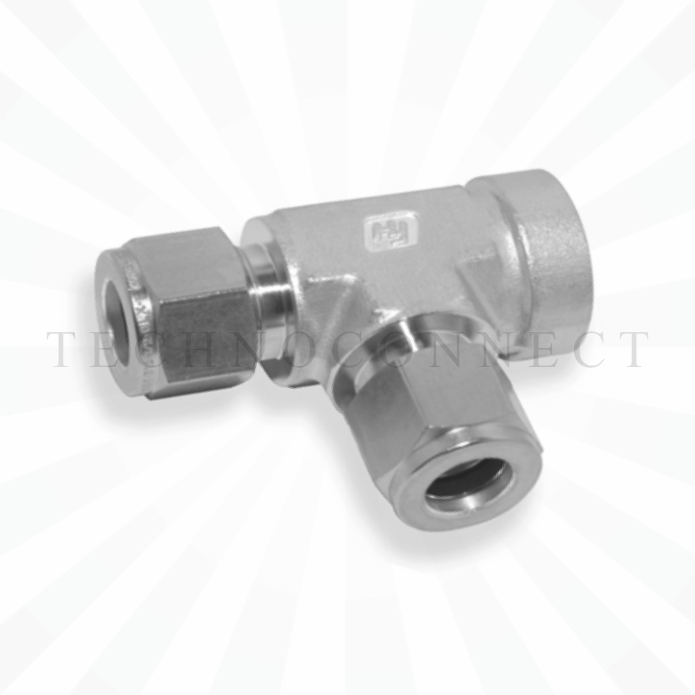 CRTA-2  Тройник - адаптер проходной: фитинг 1/8