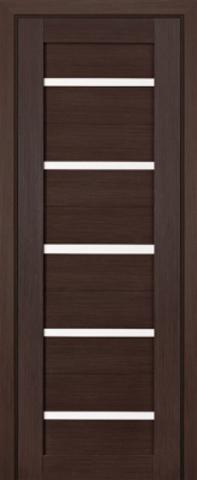 Дверь Profil Doors №7Х стекло матовое, цвет грей мелинга, остекленная