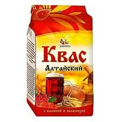 Квас Алтайский, Дивинка, С ржаным солодом и ягодами, 700 г.