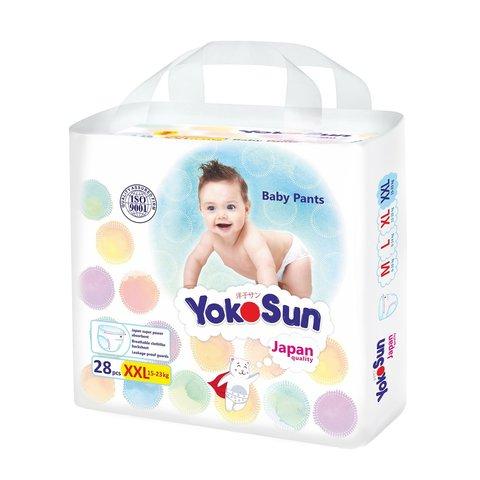 трусики YokoSun XXL 28шт 15-23 кг
