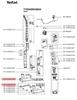 Щетка  для пылесоса Tefal (Тефаль) в сборе FS-9100025720