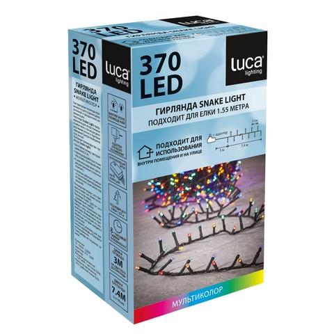 Гирлянда Luca Lighting мультиколор (370 ламп, длина гирлянды 740 см) для ёлки 120-155 см