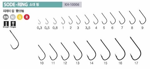 Крючок Kumho SODE-Ring (100 шт/уп)