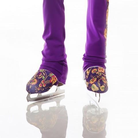 Чехлы для ботинок коньков ХОХЛОМА