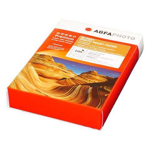 Фотобумага AGFA Premium 4R (10x15) Глянцевая 210g 100 листов