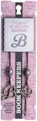 Bookmark Key and Letter Book Keepers - Letter B