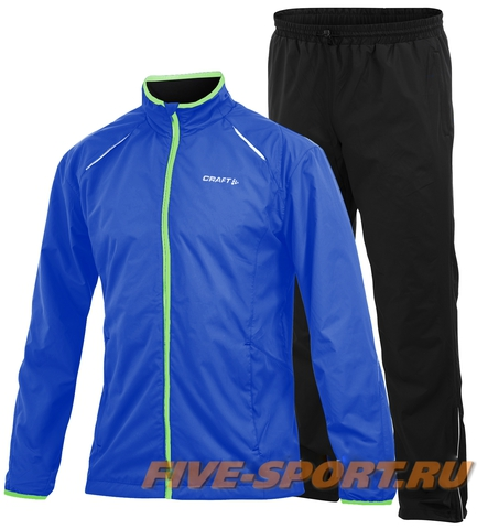 Костюм для бега Craft Active Run Wind мужской blue (2344)