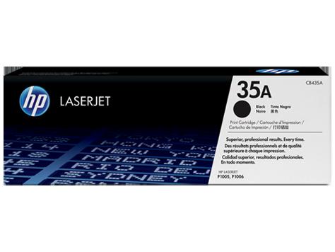 HP №35A CB435A, черный, до 1500 стр.