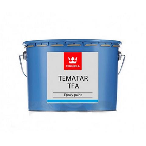 Tikkurila Tematar TFA/Тиккурила Тематар ТФА краска эпоксидная для для окраски стальных и оцинкованных поверхностей