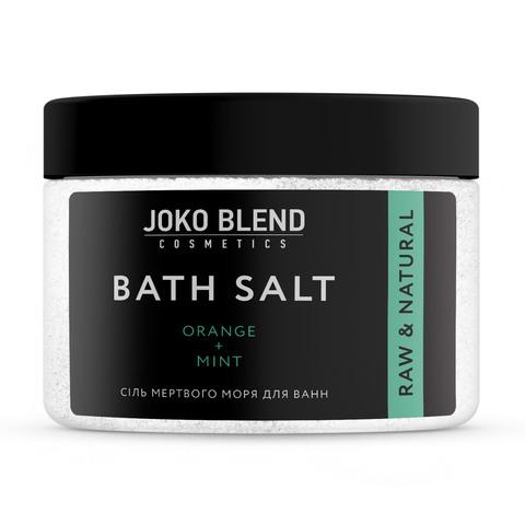 Соль Мертвого моря для ванн Апельсин-Мята Joko Blend 300 гр