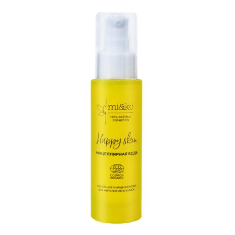 Мицеллярная вода Happy Skin | mi&ko