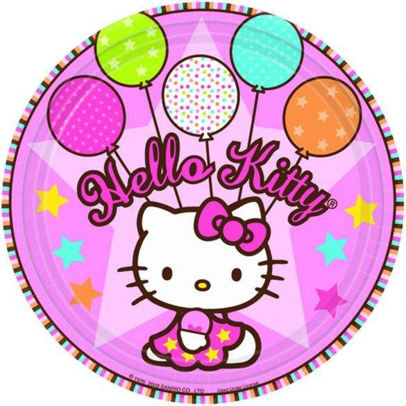Тарелка Hello Kitty/8 шт.