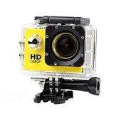 Экшн-камера JS4000 1080p Влагоустойчивая (Желтый)
