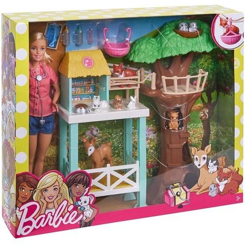 Барби набор Спасатель Животных