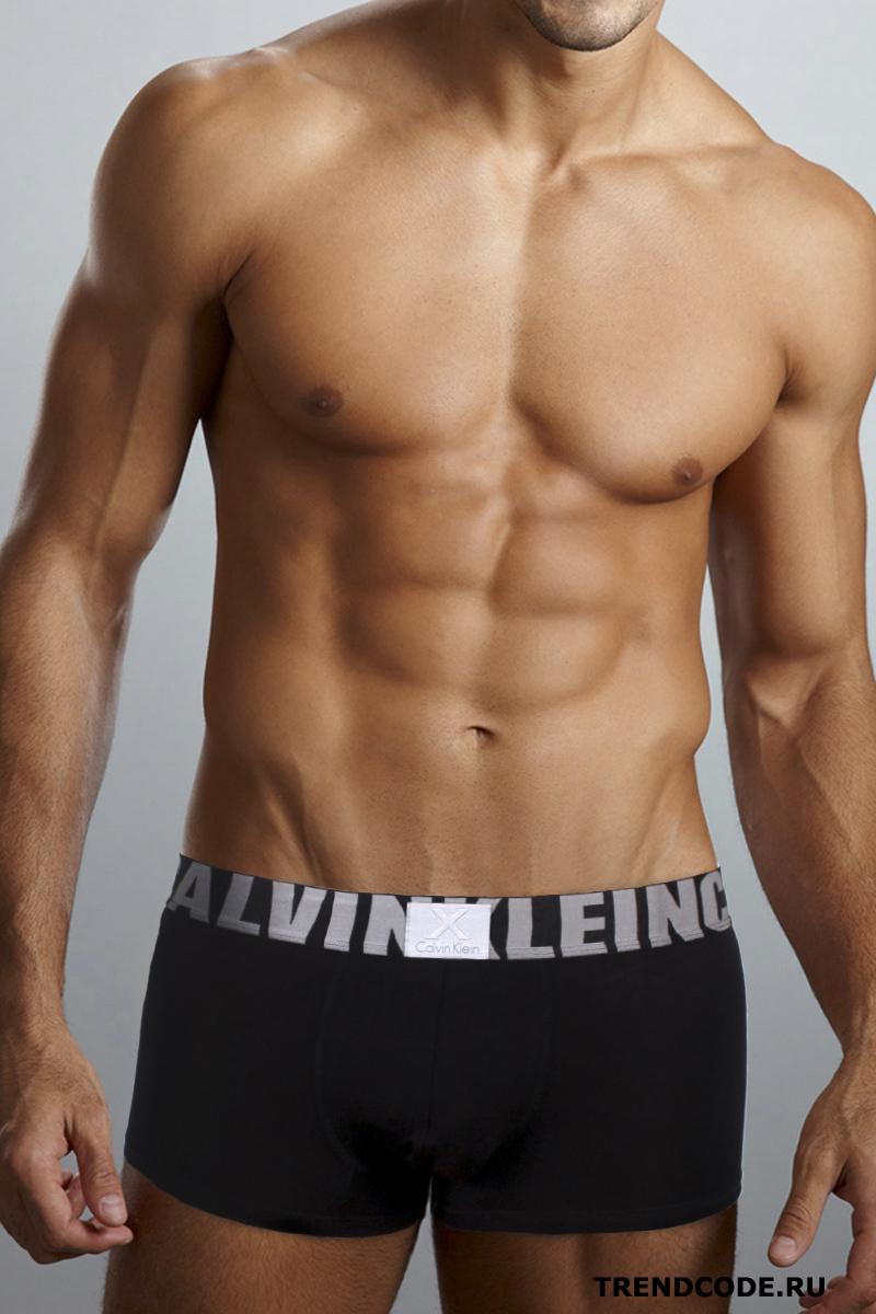 4c7f81265d364 Трусы боксеры мужские CALVIN KLEIN мод.CK X 003 черный