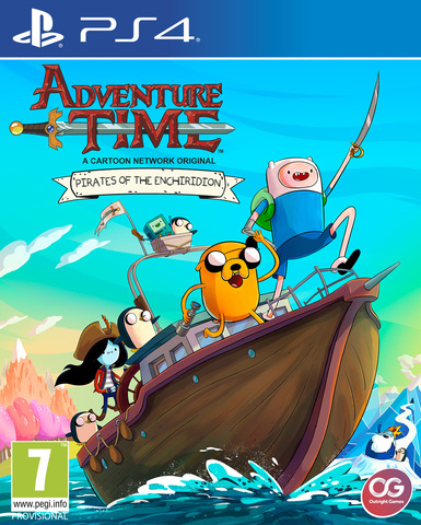 PS4 Adventure Time: Pirates of Enchiridion (английская версия)