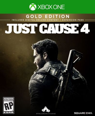 Xbox One Just Cause 4. Gold Edition (английская версия)