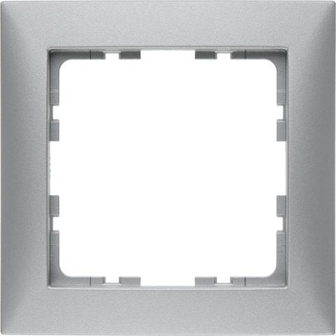 Рамка на 1 пост. Цвет Алюминий. Berker (Беркер). S.1. 10119939