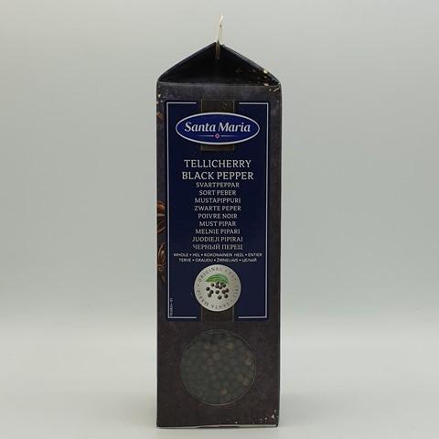Перец черный (целый) Теличерри SANTA MARIA, 450 гр