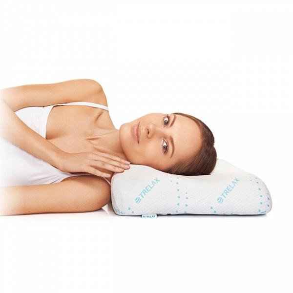 Ортопедическая подушка для сна с охлаждающим эффектом