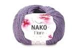 Пряжа Nako Fiore сирень 10972