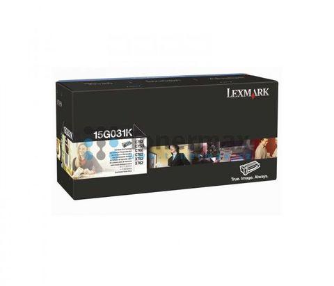 Картридж для принтеров Lexmark C752, C760, C762 черный (black). Ресурс 6000 стр (15G031K)