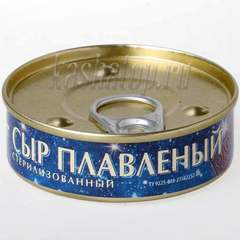 Сыр плавленый стерилизованный, 80г (банка) в магазине Каша из топора