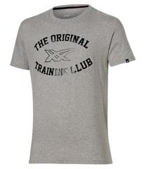 Мужская футболка Asics Graphic SS Top (131530 0714) серая фото