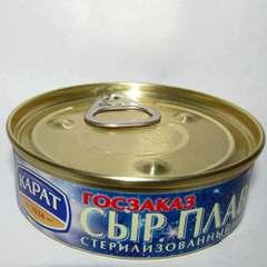Сыр плавленый стерилизованный, 80г