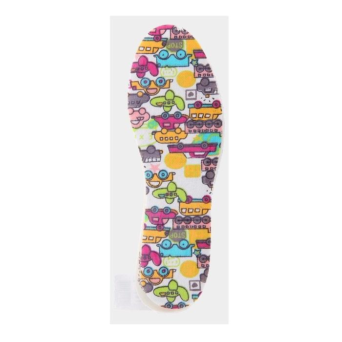 Стельки для детской обуви «Машинки»