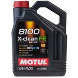 Motul 8100 Х-Clean FE 5W30 Синтетическое моторное масло