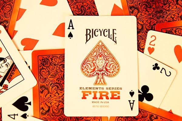 Карты Fire от Bicycle