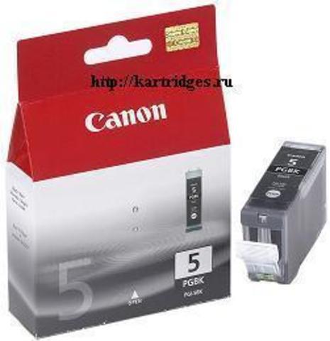 Картридж Canon PGI-5BK / 0628B024