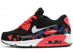 Кроссовки Женские Nike Air Max 90 Essential Black Coral Camo