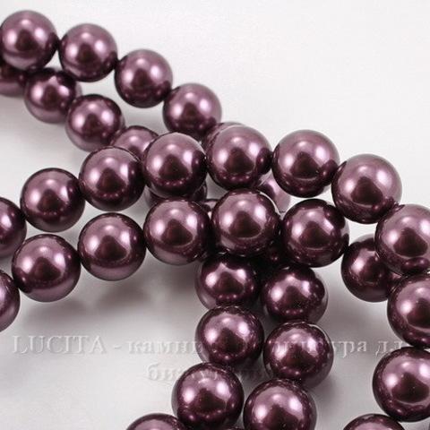 5810 Хрустальный жемчуг Сваровски Crystal Burgundy круглый 8 мм , 5 шт (Картинка1)