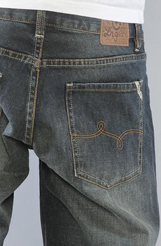 Широкие джинсы фото 3